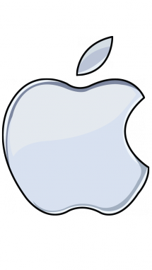 215x382 How To Draw Apple Logo, World Brands, Easy Step By Step Drawing