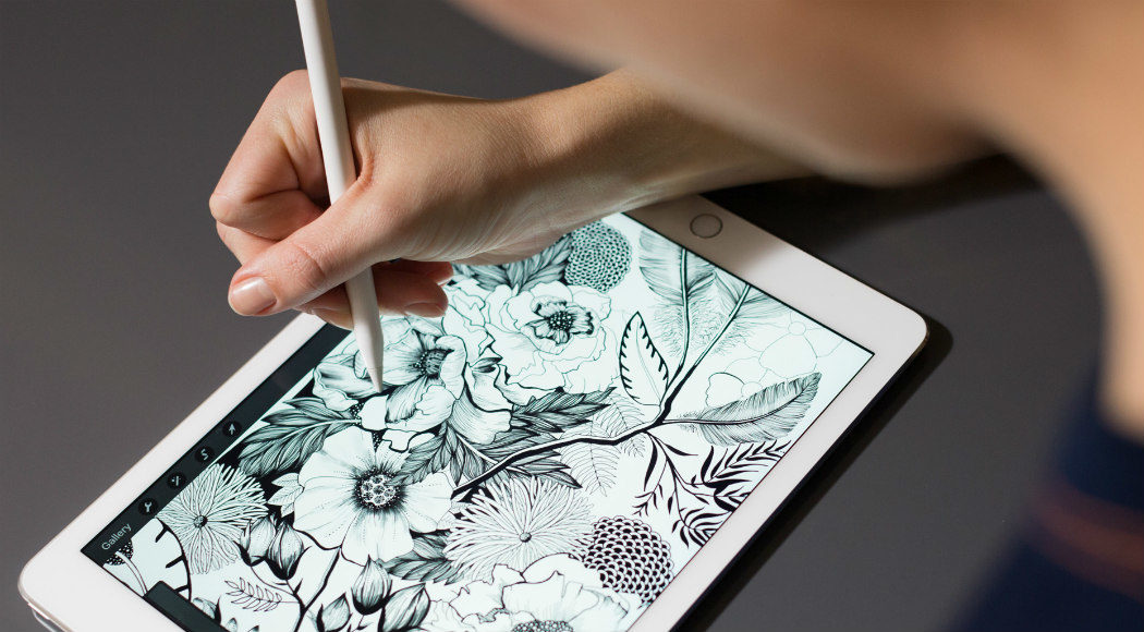 1050x580 How Does Apple Pencil Work With Ipad Pro