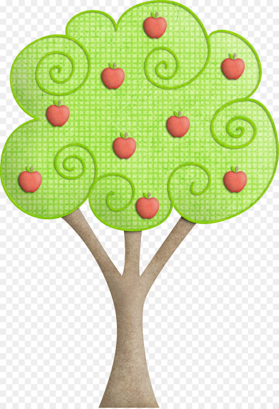 Apple Tree Drawing at GetDrawings.com   Free for personal use Apple ...