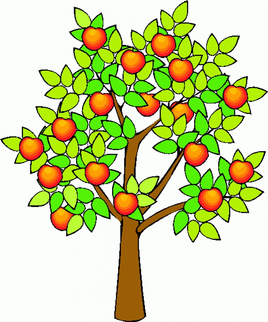 Apple Tree Drawing at GetDrawings.com | Free for personal use Apple ...
