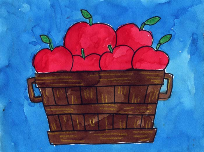 700x523 Bushel Of Apples