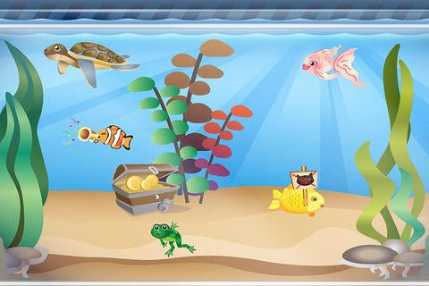480x320 Aquarium For Kids (By Happy Touch)