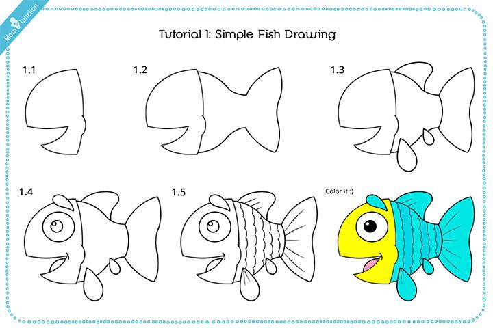 Aquarium Drawing For Kids at GetDrawings | Free download