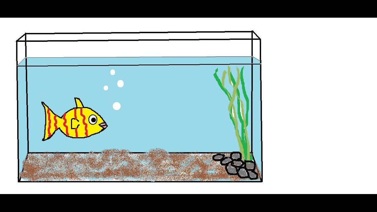 1280x720 How To Draw A Fish Aquarium For Children Nursery Rhymes This Old
