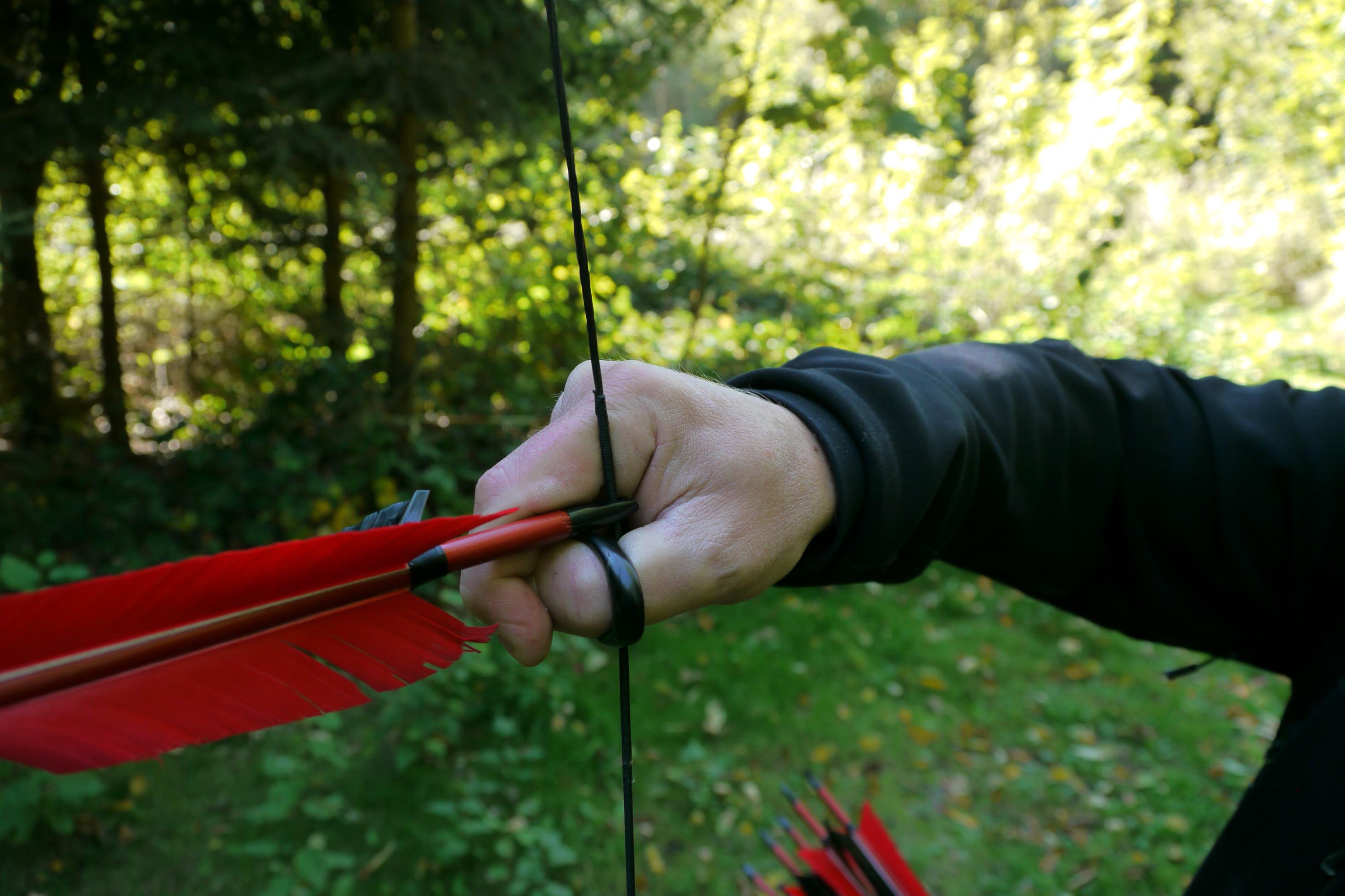 2928x1952 The Drawing Hand Archery Thumb Ring Munich