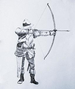 255x300 Archery Drawings