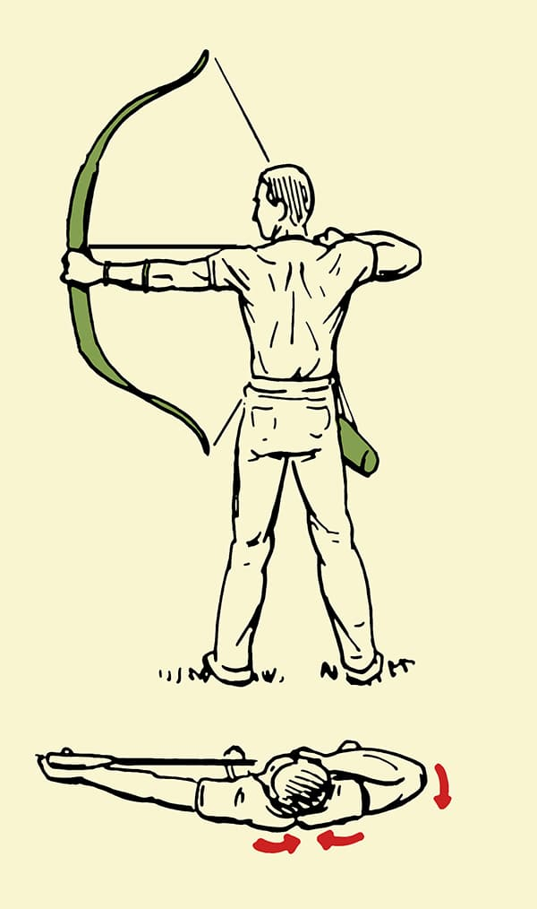 600x1014 How To Shoot A Traditional Bow And Arrow The Art Of Manliness