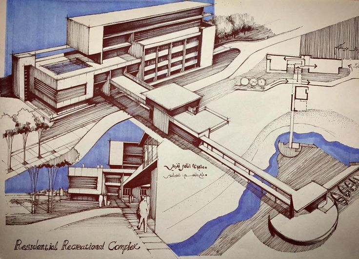 architectural hand drawings.  Hand 736x530 203 Best Sketch Images On Pinterest Architecture Drawings In Architectural Hand Drawings
