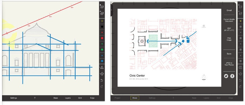 Architect scale drawing at getdrawings free for personal use 849x363 ultimate ipad guide conceptual drawing apps for architects malvernweather Choice Image