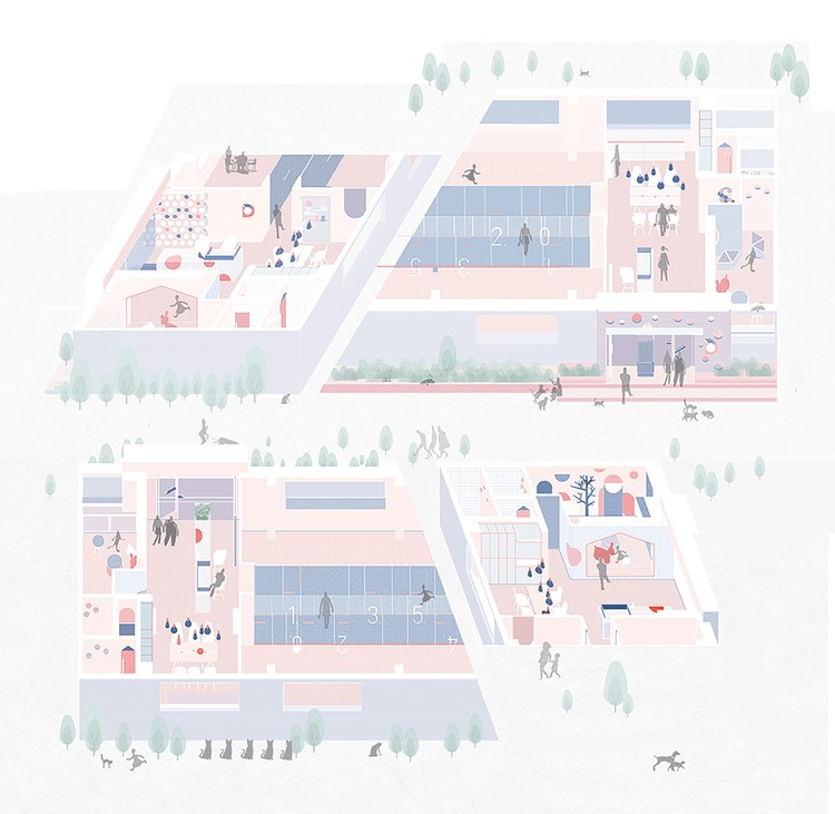 750x731 The Best Architecture Drawings of 2016 ArchDaily