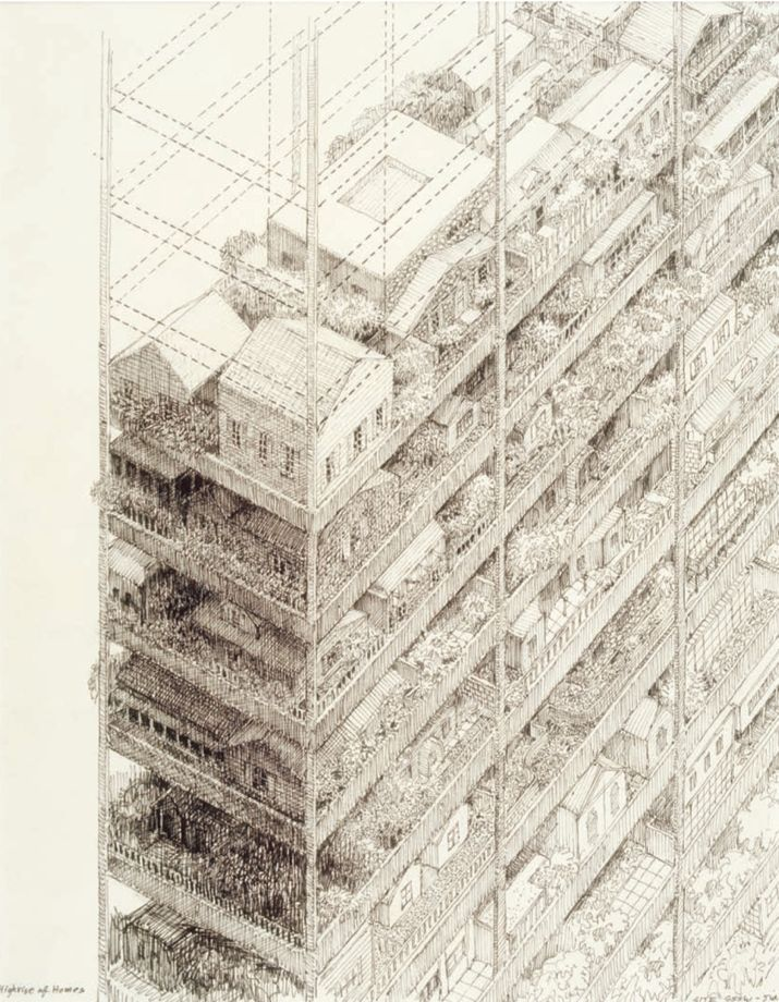 715x920 100 Years Ofrchitectural Drawing By Neal Bingham Chronicles