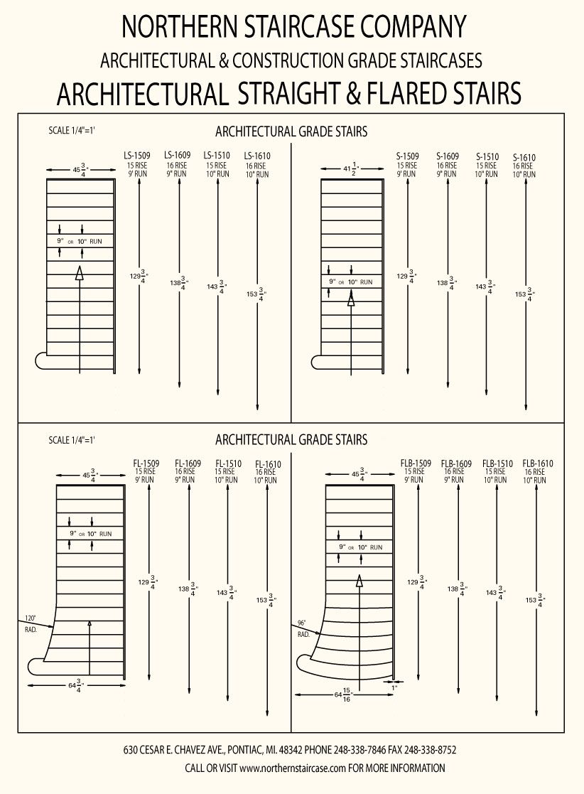 822x1117 Architectural Drawings Stairs