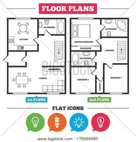 450x470 Architecture Plan Furniture. House Vector Amp Photo Bigstock