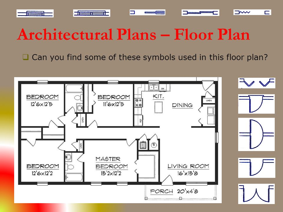 architectural floor plan symbols pdf