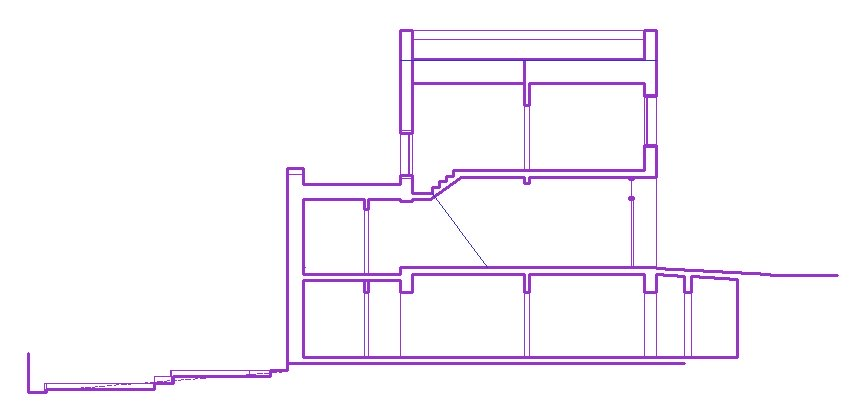 850x416 Section Drawing