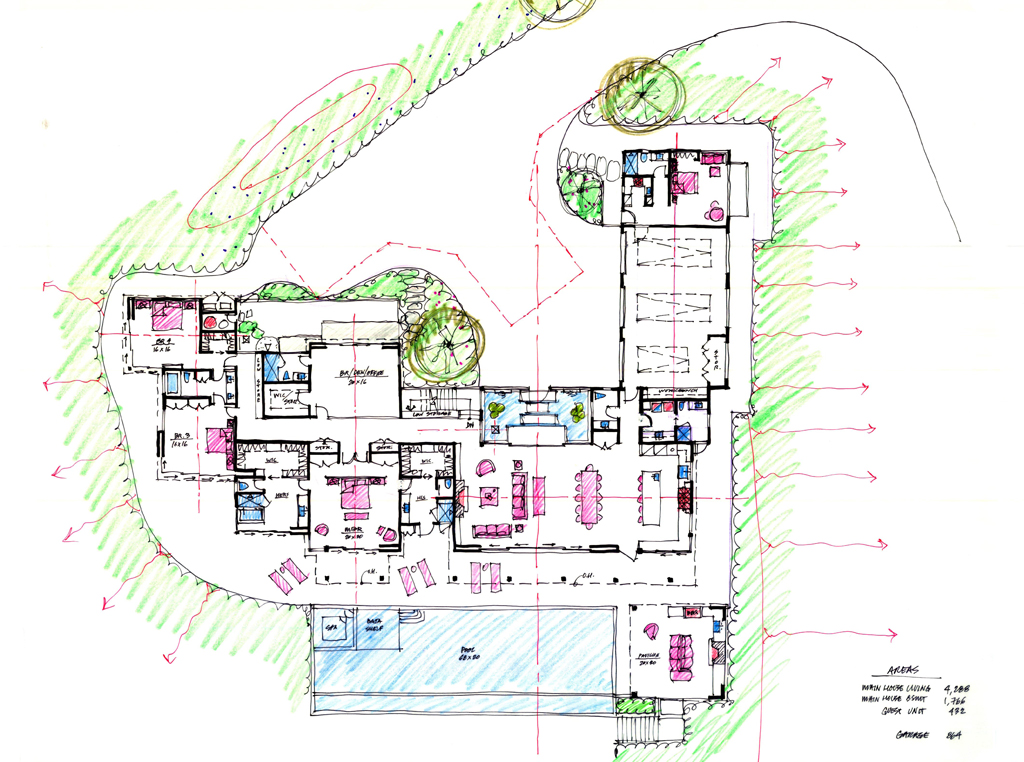 Architectural site plan drawing at getdrawings free for 1024x762 hand sketches ryan levis architect inc ccuart Images