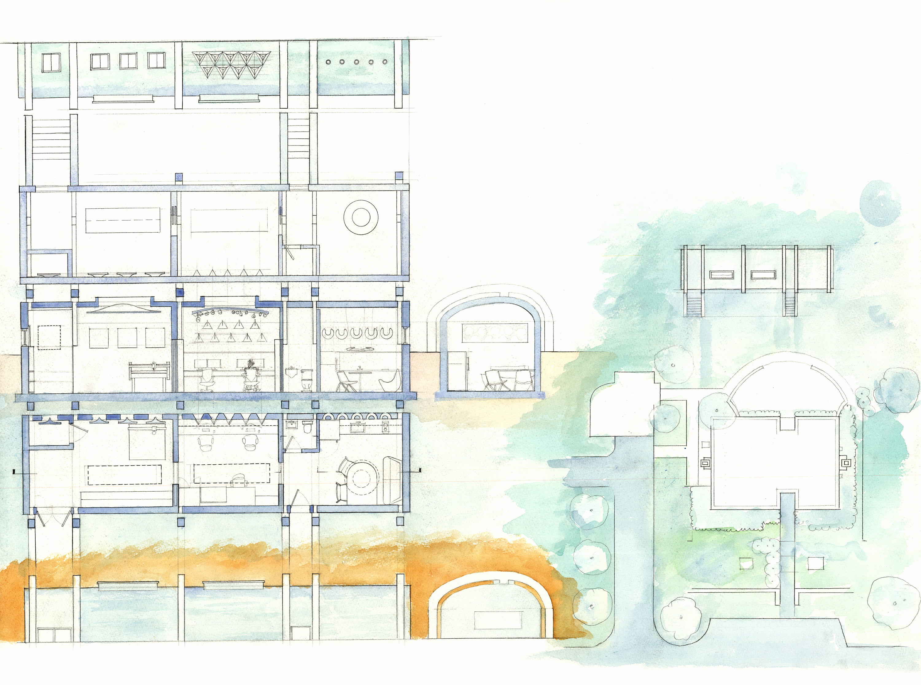 3000x2232 House Site Plan Inovations Building Architectural Modern Plans