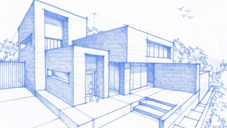 460x259 Architectural House Sketch Google Search Design Fundamentals