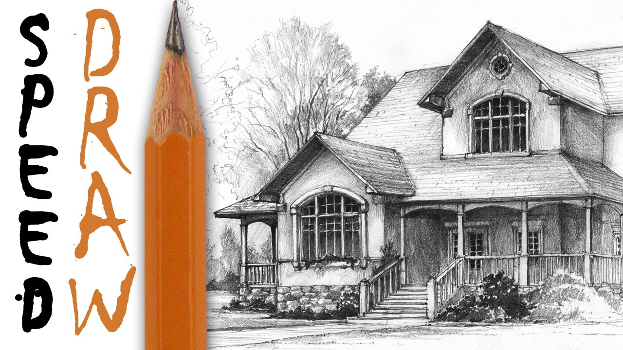 1280x720 How To Draw A House