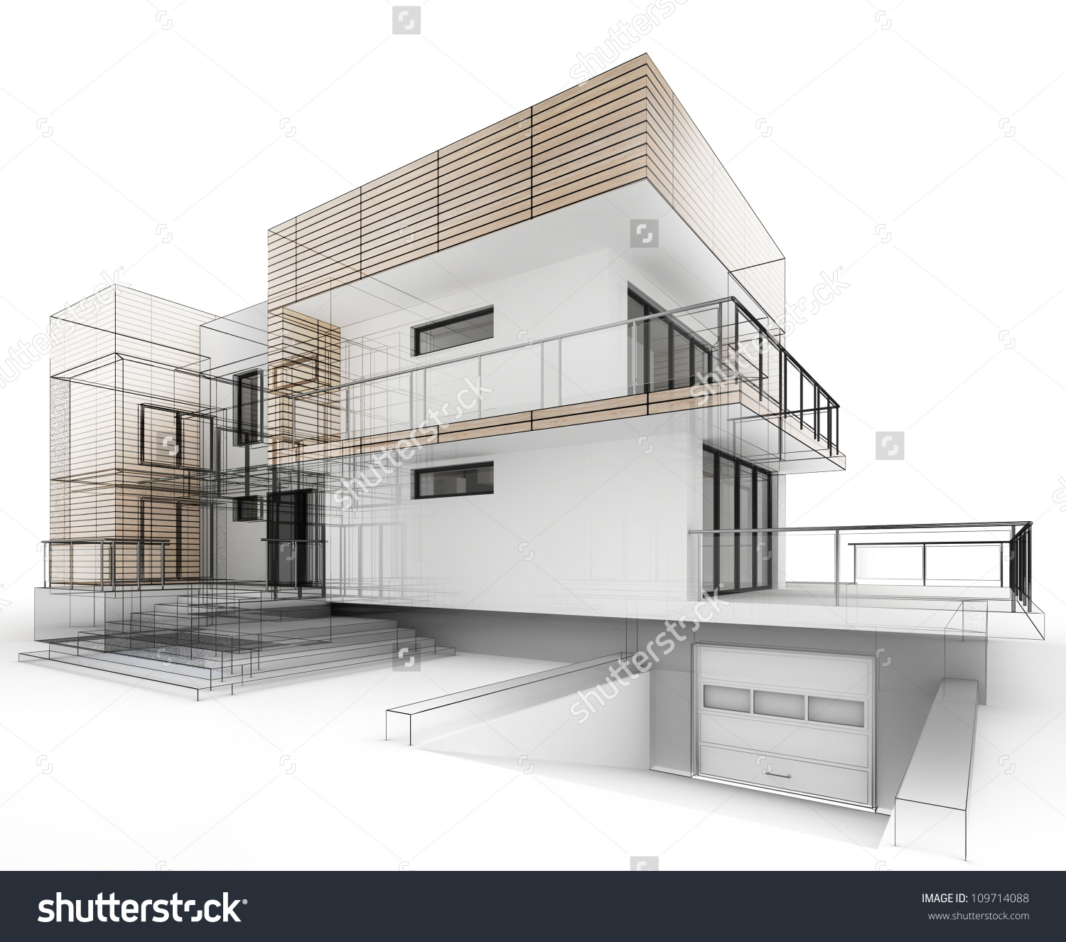Architecture House Drawing at GetDrawings.com | Free for personal ...