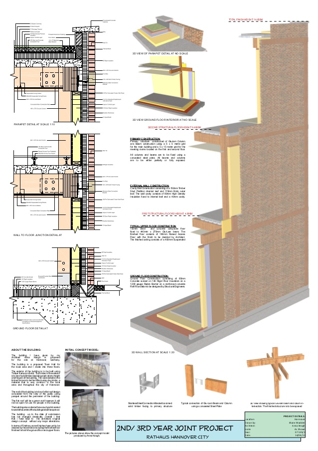 638x904 Presentation Design Drawing For Architectural Drawing