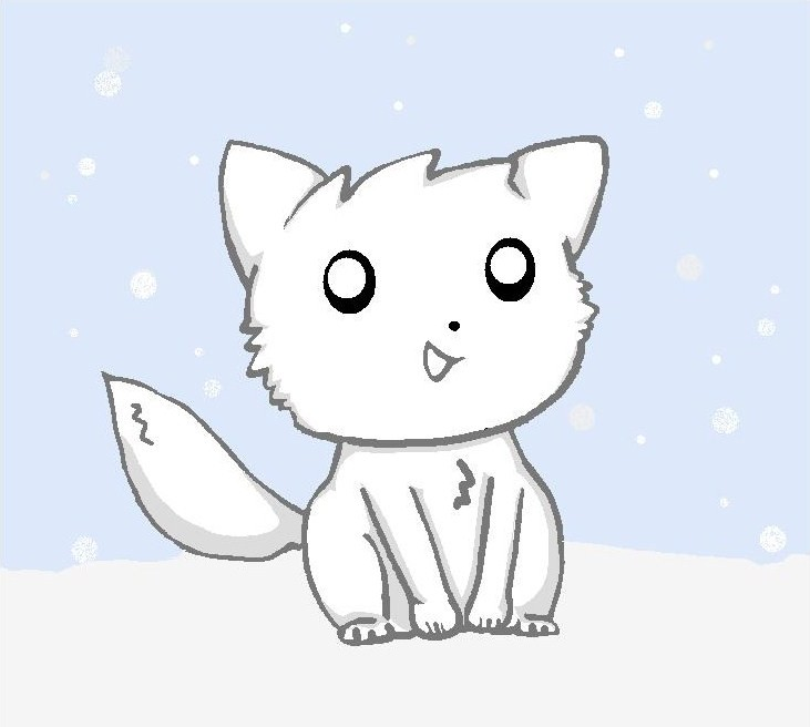 731x656 arctic fox cub by stacey008 on deviantart