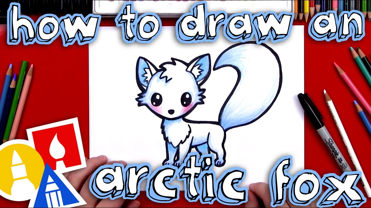 1280x720 How To Draw An Arctic Fox