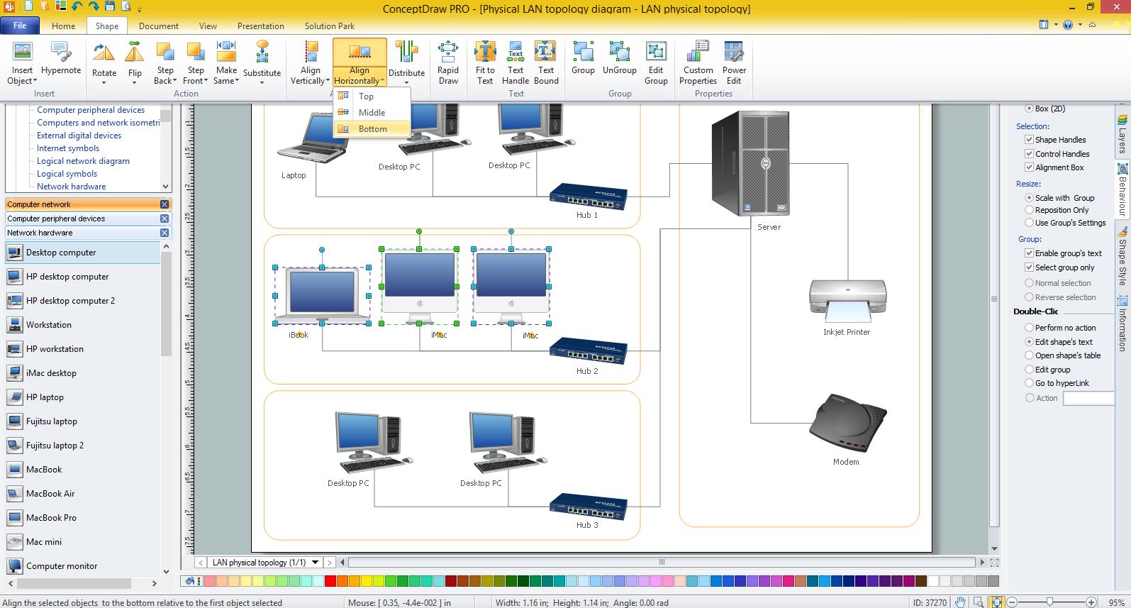 1595x857 Lan Diagrams Physical Office Network Diagrams Diagram For Lan