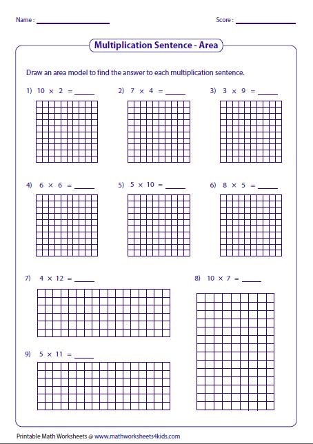 454x644 Models Worksheets