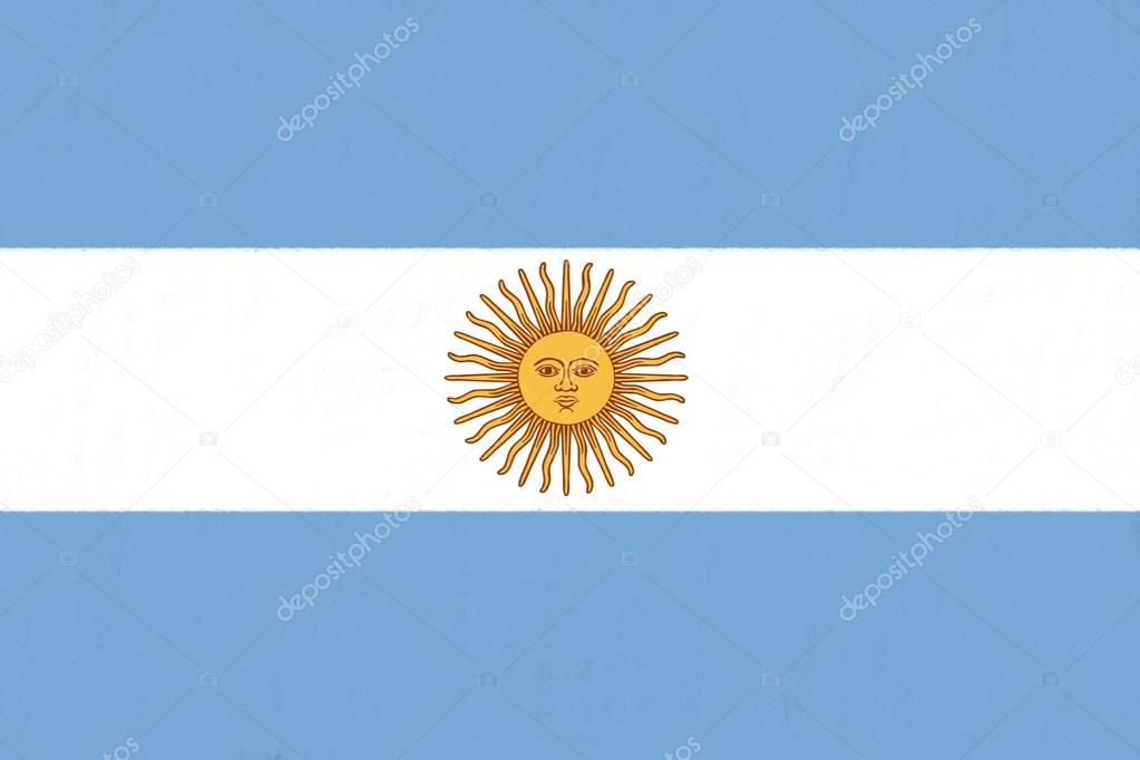 1023x682 Argentina Flag Drawing By Pastel On Charcoal Paper Stock Photo