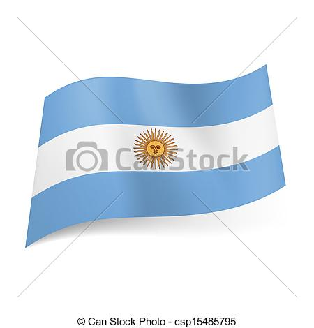 450x470 State Flag Of Argentina. National Flag Of Argentina Central