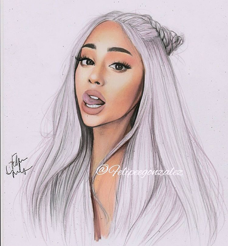 Best Ariana Easy Drawing