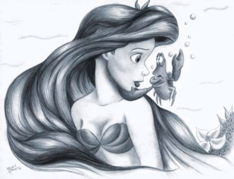 477x366 The Little Mermaid Images Sketch Wallpaper And Background Photos
