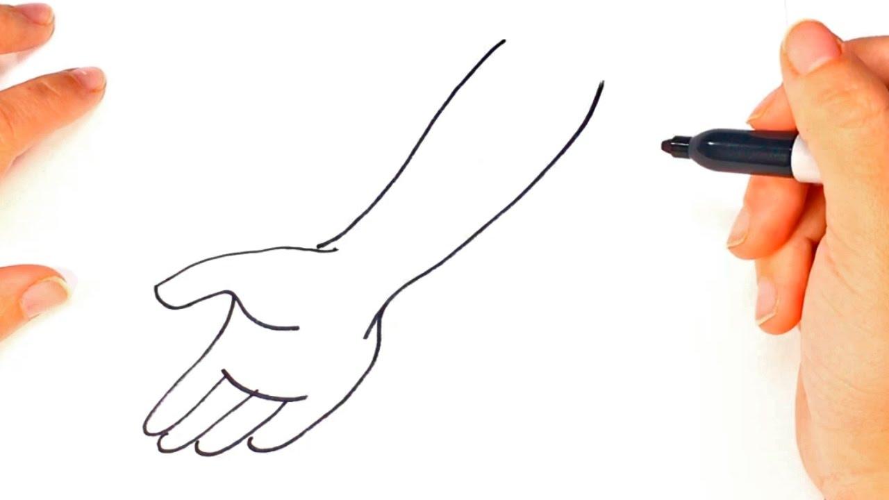 1280x720 How To Draw A Arm Body Arm Easy Draw Tutorial