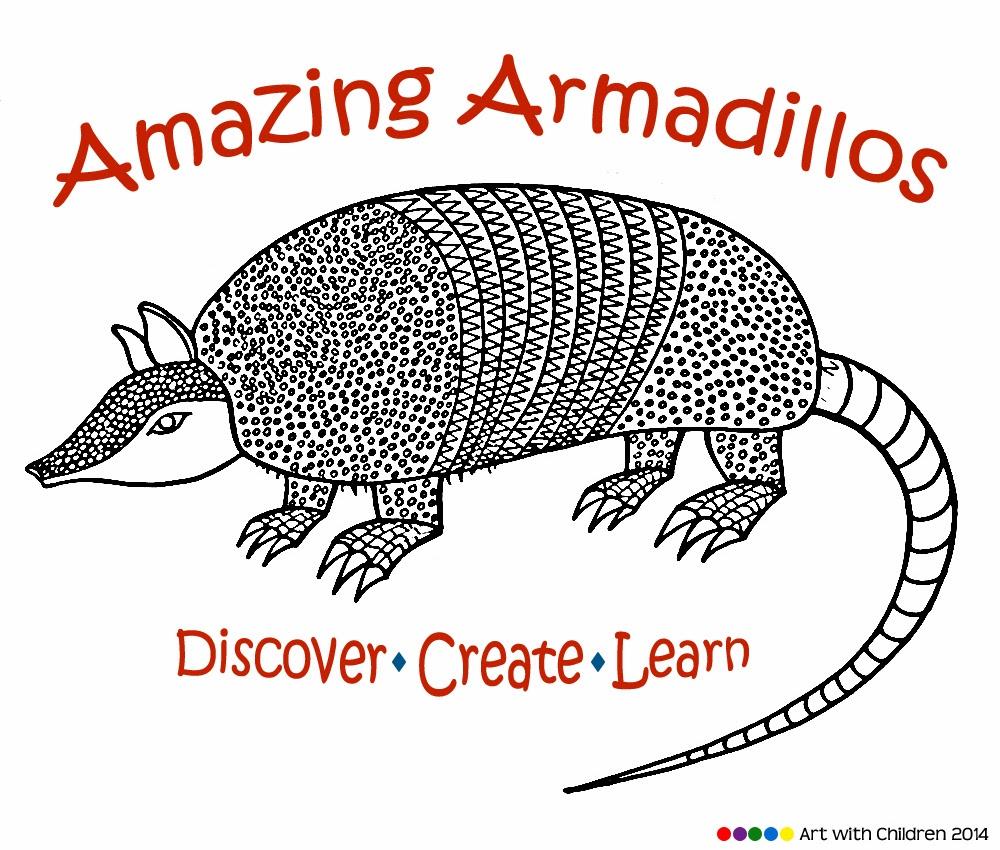 1000x850 Drawing An Armadillo