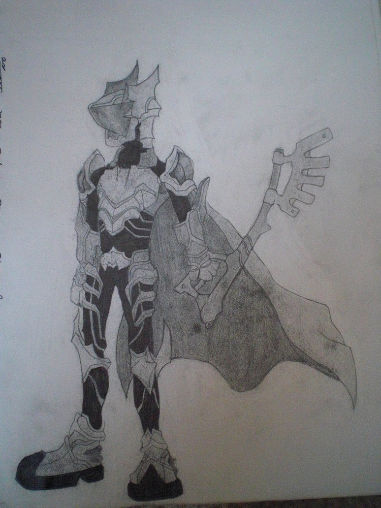 774x1032 Ventus In Armor Drawing By Thexion14