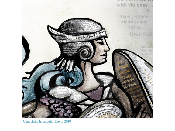576x432 Stand Armor Of God, Woman
