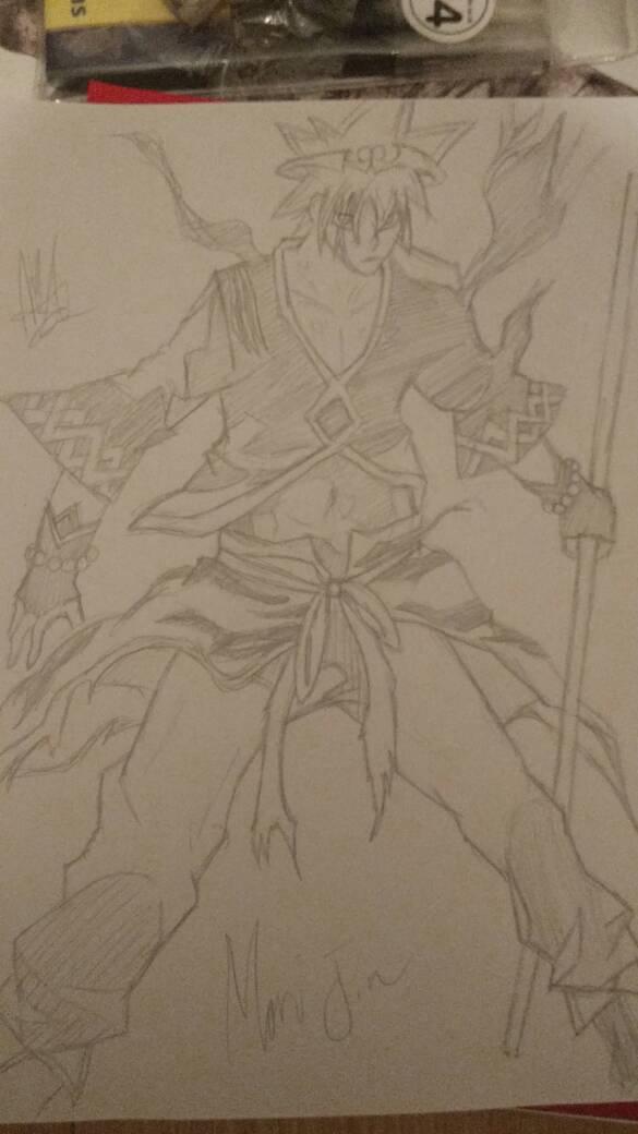 585x1040 Mori Jin (Armour Suit) (God Of Highschool) By Ztleg360qsz