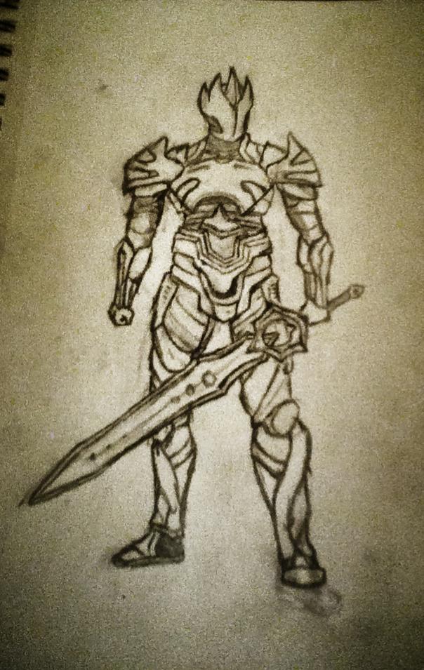 604x955 The God King (Radriar) By Necronious