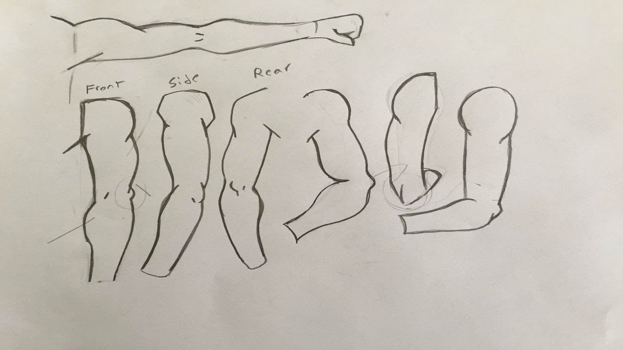 1280x720 How To Draw Manga Arms For Beginners