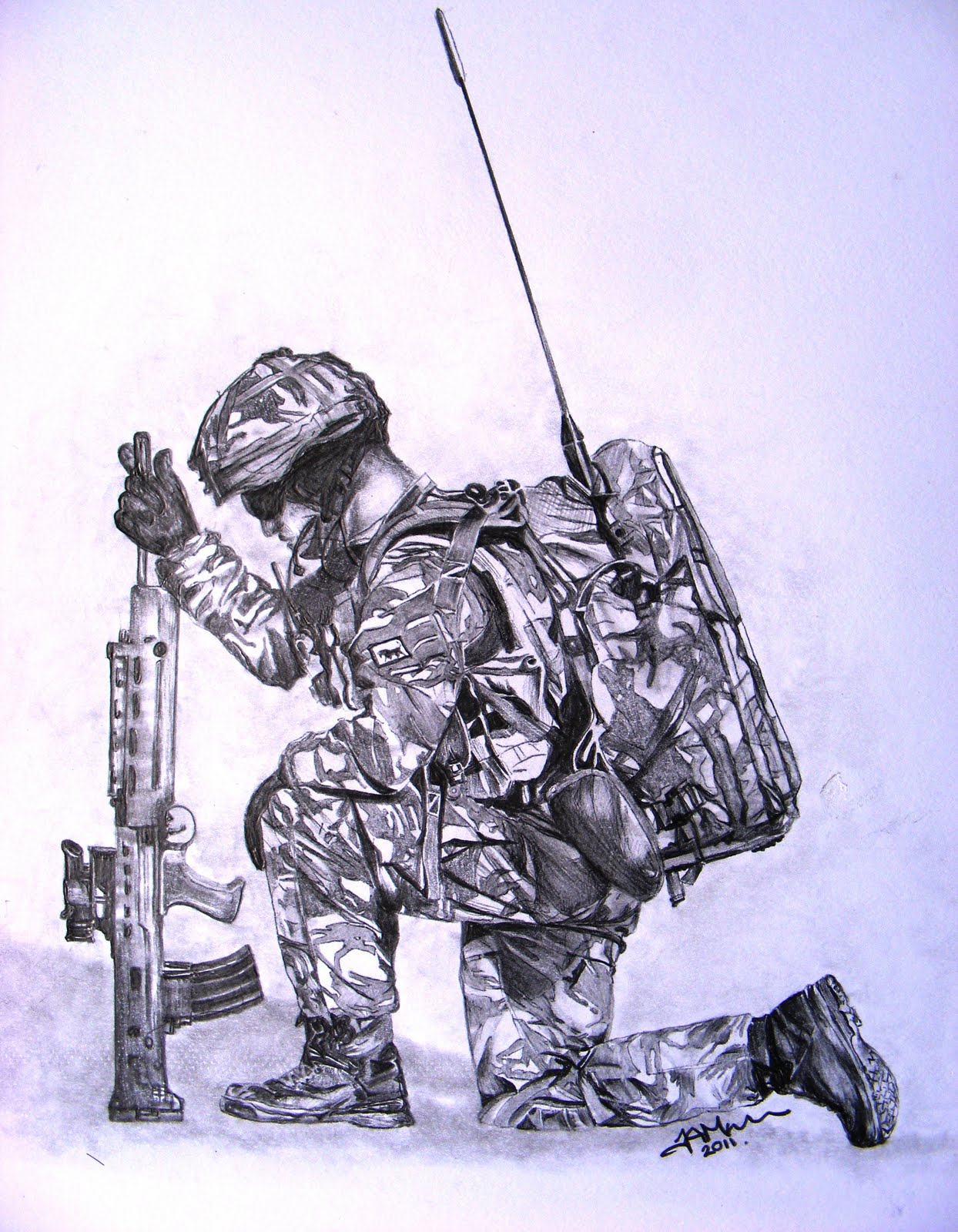 1244x1600 Drawings Of The British Armed Forces.