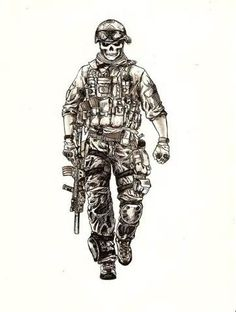 236x312 Gallery Army Soldier Drawing,
