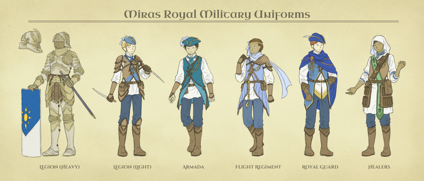 1368x584 Aa Miras Royal Military Uniforms By Number11train