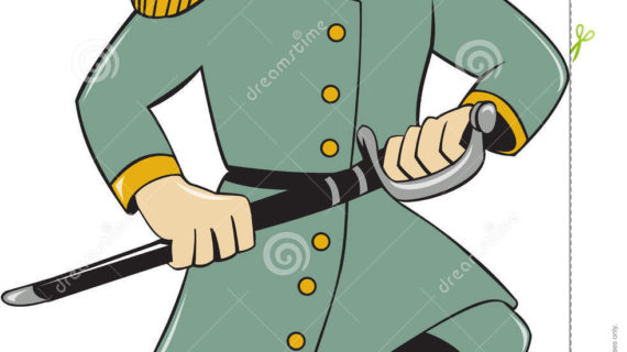 570x320 Cartoon Soldier Drawing Confederate Army Soldier Drawing Sword