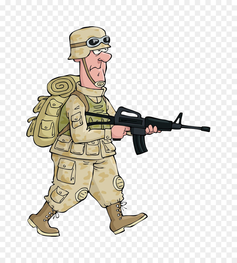 900x1000 Soldier Cartoon Drawing Royalty Free