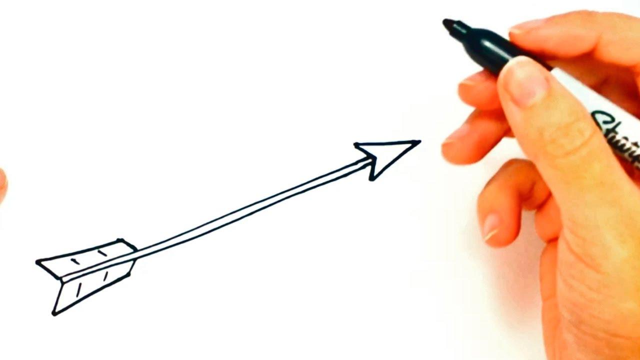 1280x720 How To Draw An Arrow Arrow Easy Draw Tutorial