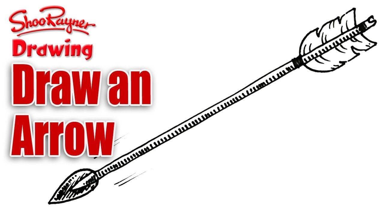 1280x720 How To Draw An Arrow