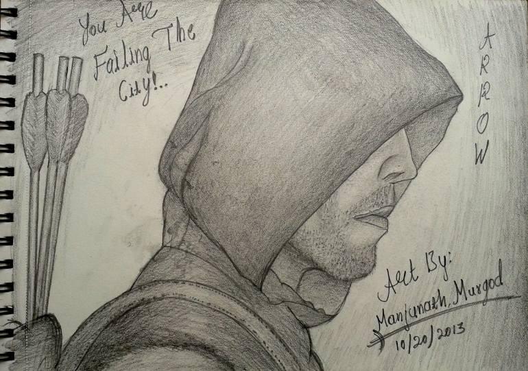 770x541 Saatchi Art The Hood Man