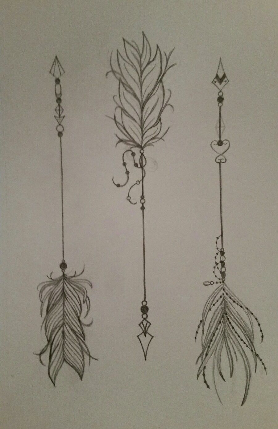 901x1387 Pretty Feather Arrows Tattoo Ideas Arrow, Feathers