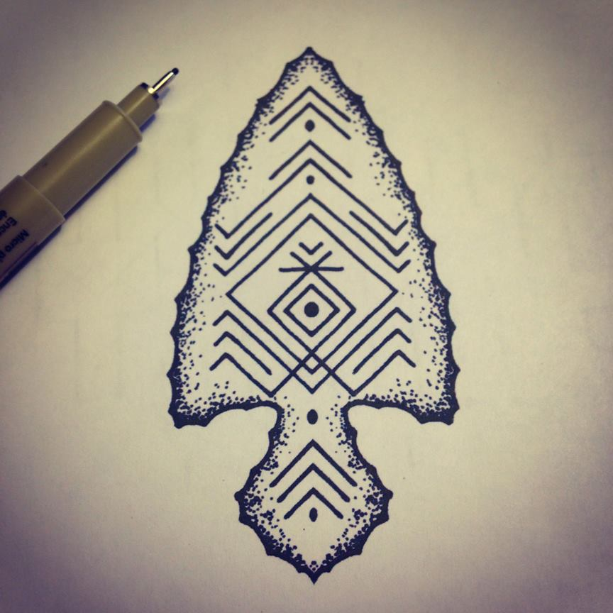 864x864 Arrowhead Tattoos Tattoo, Body Art And Piercings